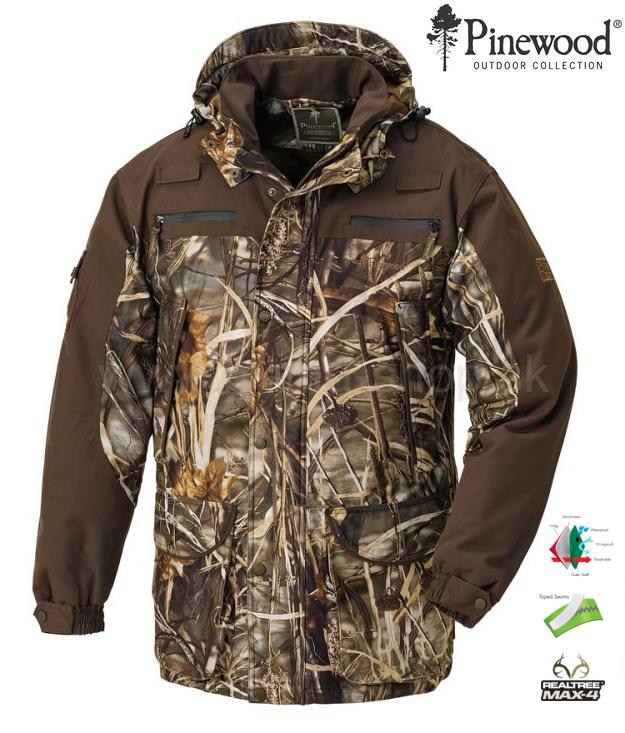 Poľovnícka bunda Duck PINEWOOD camouflage ebb3e6bbdbd