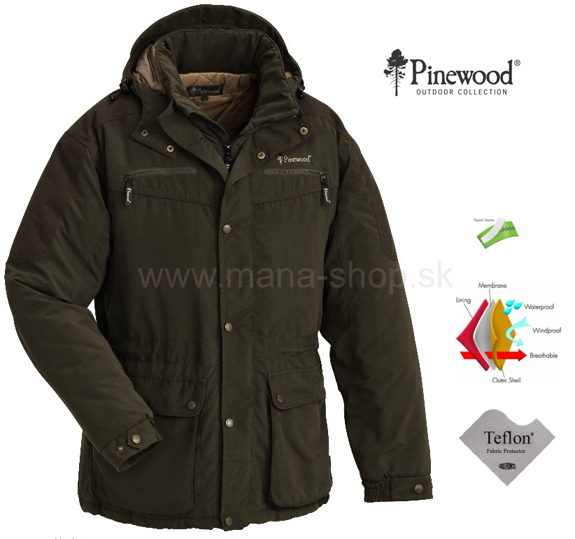 06c037528801 Poľovnícka bunda Siberia PINEWOOD