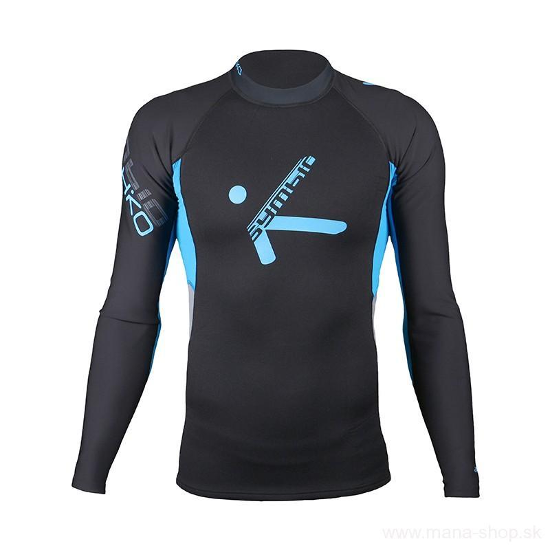 Neoprénové tričko SYMBIO s dlhým rukávom HIKO čierno-modrá empty a2462536db