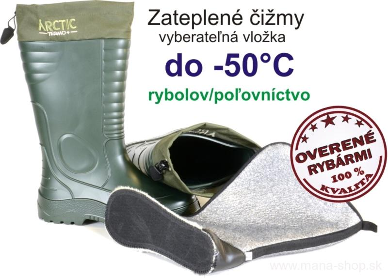 9db20d8a9c612 Rybárske čižmy a broďáky | Vodeodolné čižmy ARCTIC TERMO + 875 ...