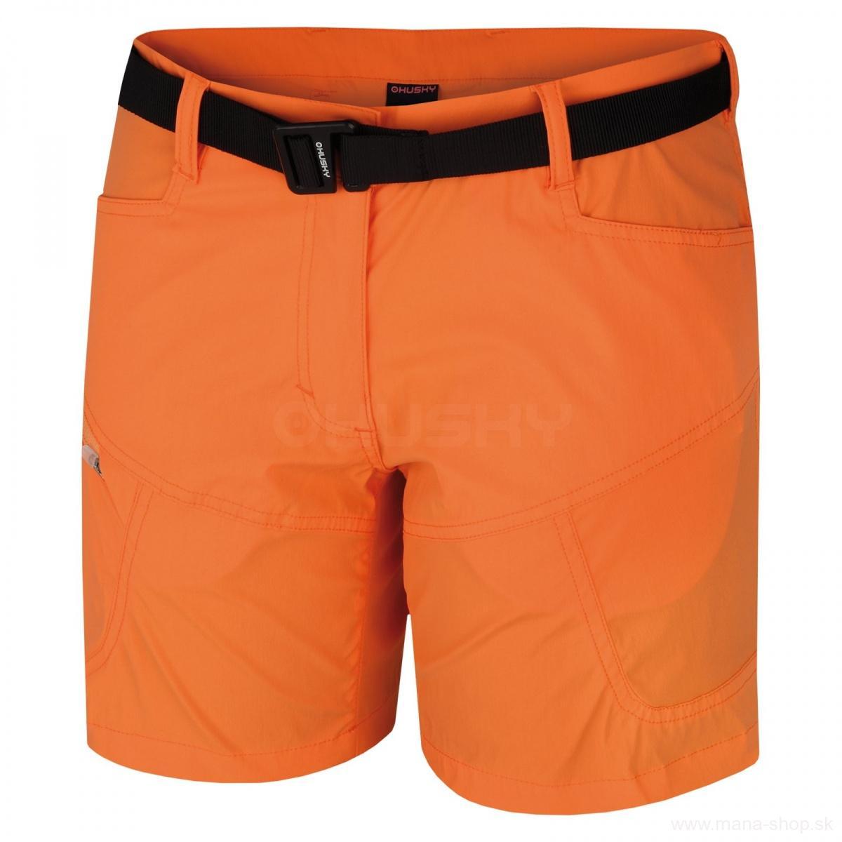 Kraťasy KIMBI L HUSKY oranžové d091693264