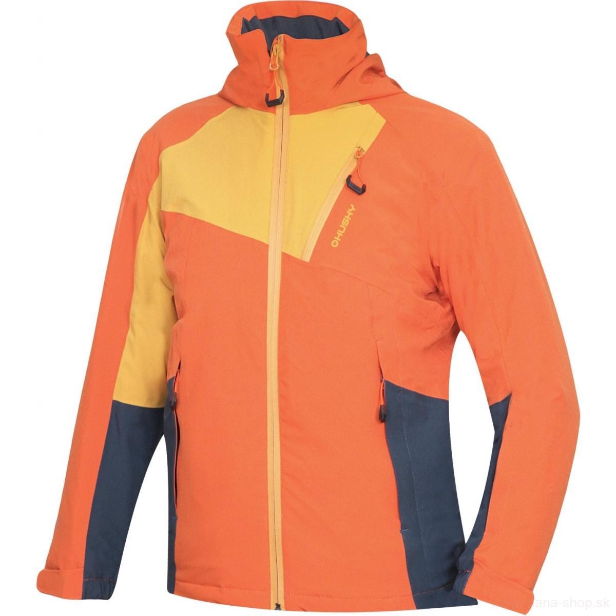 Detská lyžiarska bunda ZAWI K NEW oranžová 8db7a2cfd30