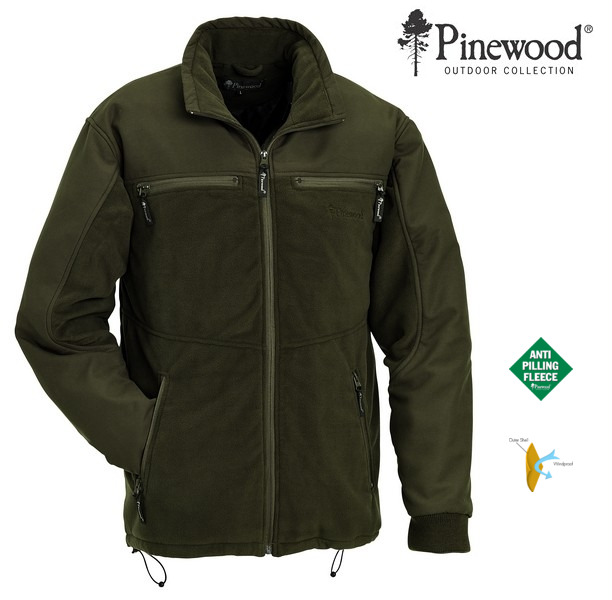 Fleece bunda Colorado PINEWOOD zelená