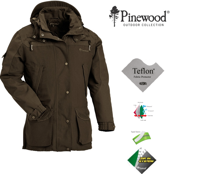 Poľovnícka bunda Mufflon PINEWOOD a784360ed5b