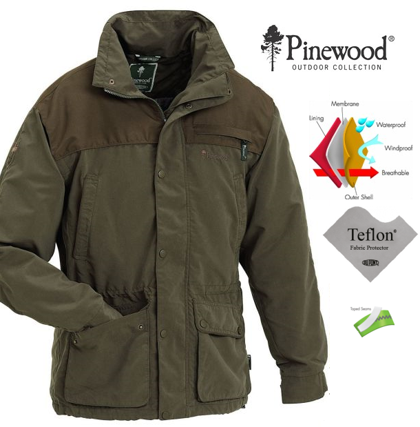 Outdoor bunda Wapiti PINEWOOD